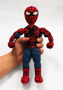 Spiderman Superhero Amigurumi Pattern