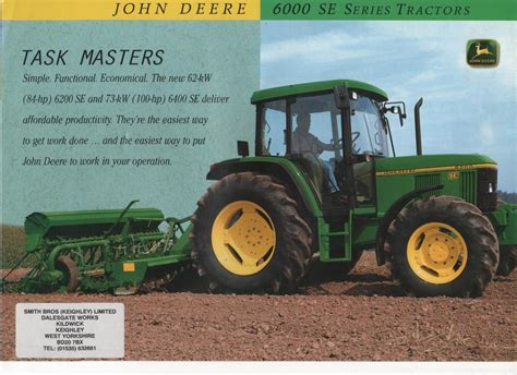 our shops deere tractor 6000 se series 6200 se and 6400 se