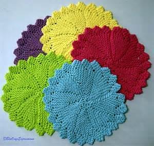 Round Dishcloth Pattern
