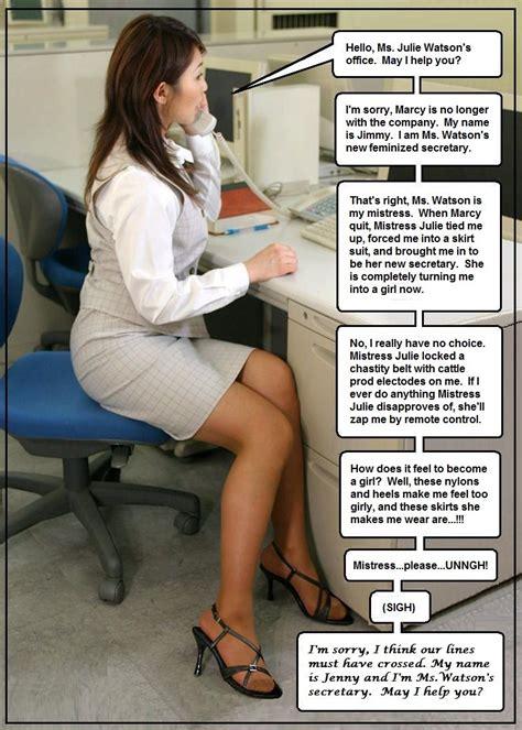 Feminization Advertisement Trophy Wives Gender Role Role Reversal Secretary