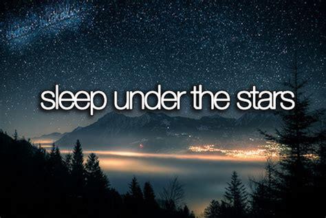 Sleep Under The Stars On Tumblr