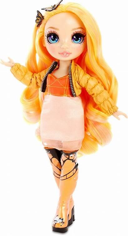Rainbow Poppy Doll Rowan Surprise Panenka Lalka
