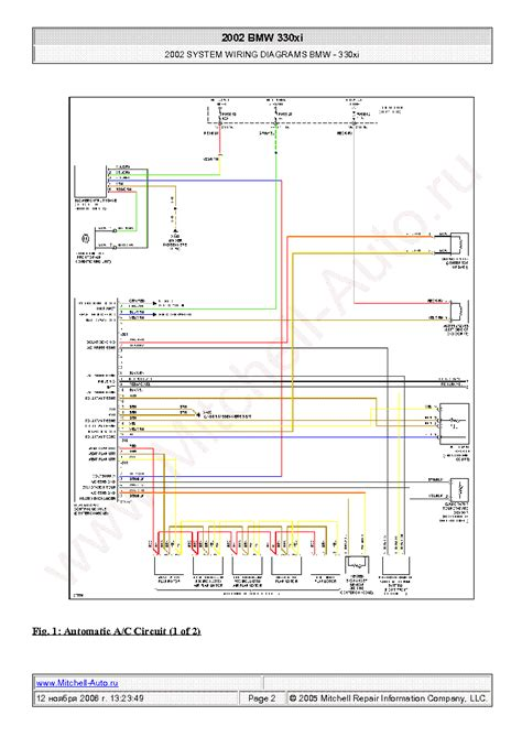 bmw 330xi 2002 wiring diagrams sch service manual schematics eeprom repair info for