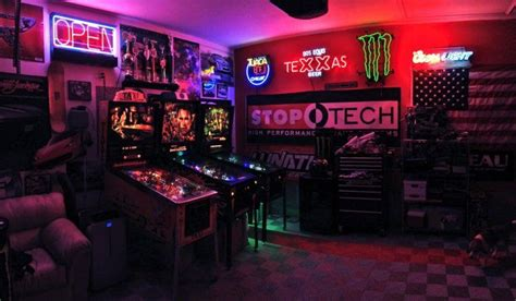 fun garage game room ideas