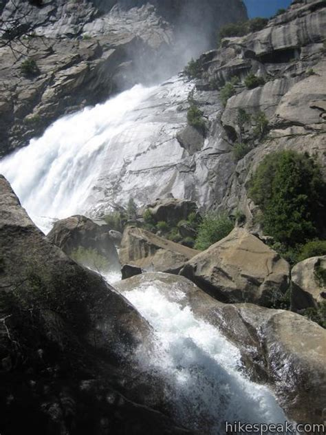 Wapama Falls Trail Yosemite National Park Hikespeak