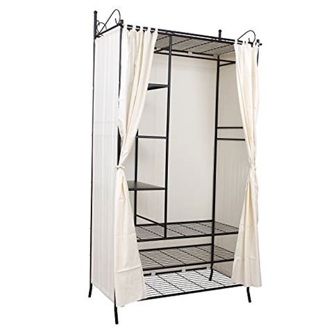 Cupboard Hanging Rail by Songmics Wardrobe Clothes Cupboard Hanging Rail Storage