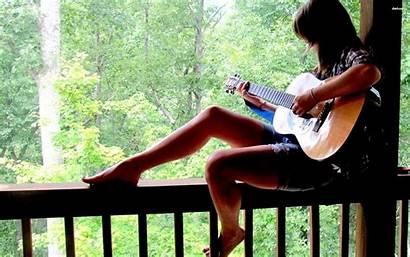 Guitar Playing Wallpapers Profile Acoustic Country Models