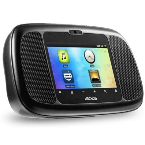 android alarm archos debuts android based dect phone and alarm