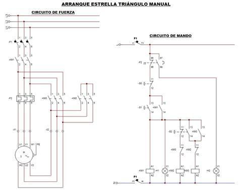 arranque estrella triangulo varios circuitos motores trif 225 sicos