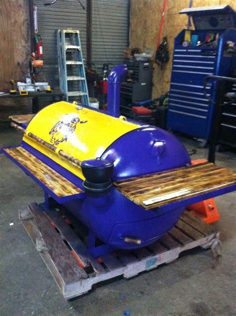 build custom pit custom built lsu mobile bbq grill smoke n bbq