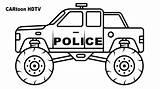 Coloring Monster Truck Pages Police Printable Pdf Cop Colors Print Vehicles Preschool Albanysinsanity Marvelous Creative Astonishing Freee Slavyanka Coloringes Sketch sketch template