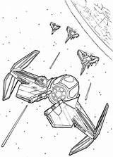Coloring Fighter Tie Wars Printable Gunship Starship Starwars Getdrawings Sheets Lds Enterprise Getcolorings Temples Uss Trek sketch template
