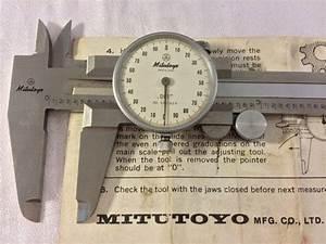 Vintage Mitutoyo Dial Caliper 505