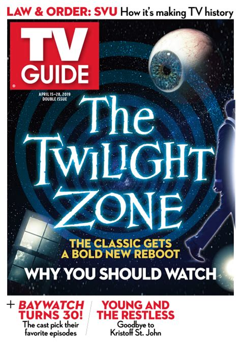 twilight zone tv guide magazine classic host serling reboot bold rod gets april 2010s archive cbs amazon envisions anthology peele
