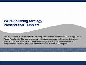 technology vars sourcing strategy template powerpoint With technology strategy document template