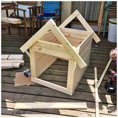 Hundehütten Selber Bauen : diy hundeh tte ganz einfach selbst gebaut diy f r hunde pinterest hundeh tten ~ Eleganceandgraceweddings.com Haus und Dekorationen