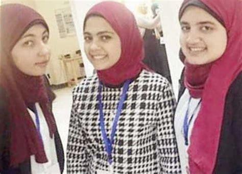 3 طالبات مصريات يبحثن عن عالم أفضل بابتكار«الجوانتى