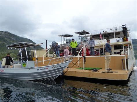Zodiac Skiff by Cruise Ship Tours Offshore Outpost Expeditions Pacific