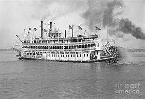 New Orleans Steamboat Cruise 1905 Photograph by Padre Art