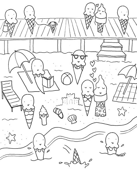 free coloring books free downloadable summer coloring book pages