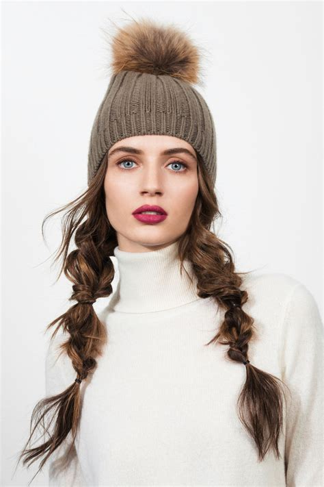 5 Times Hat Hair Looked Totally Chic Hair styles Winter