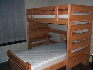 woodworking plans for l shaped bunk beds