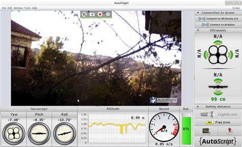 software  manejar ardrone   pc portatil  joystick espacio drone