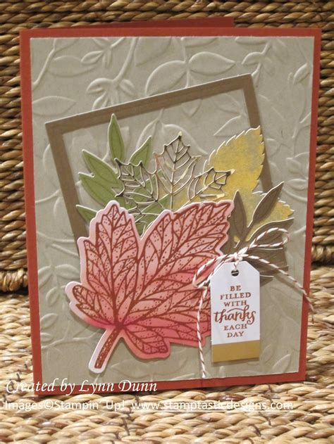 layered leaves  images paper crafts cards