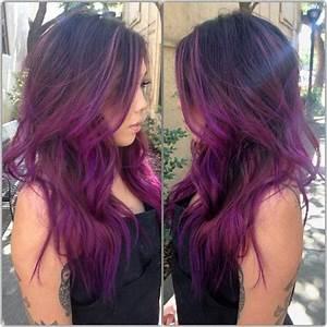 Ombré Hair Rouge : ombre plum google search hair pinterest cabello ~ Melissatoandfro.com Idées de Décoration