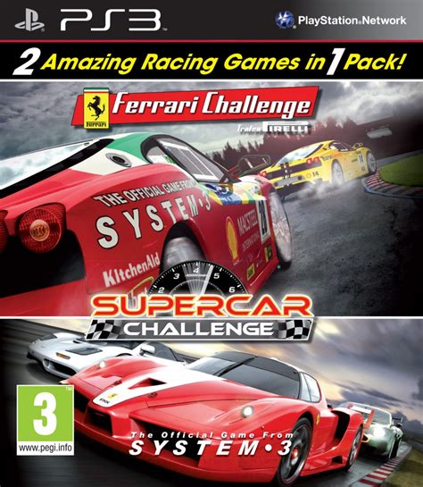 Challenge Ps3 by System 3 Challenge Supercar Challenge Ps3