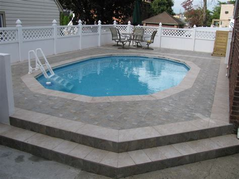 Swimming Pool: Cool Image Of Backyard Landscaping