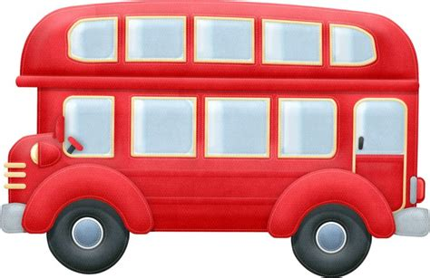 England Double Decker Bus Clipart (16 )