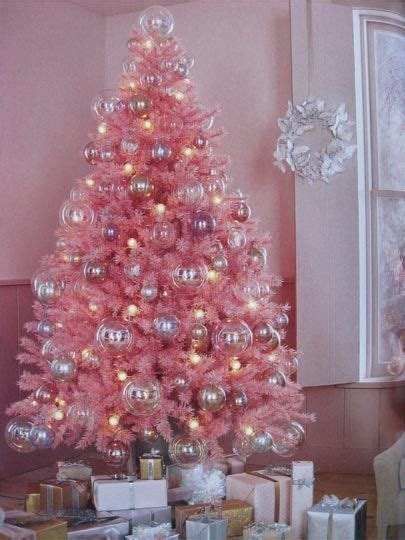 Weihnachtsbaum Mit Rosa Kugeln by Trees Of Color Pink Tree Pink