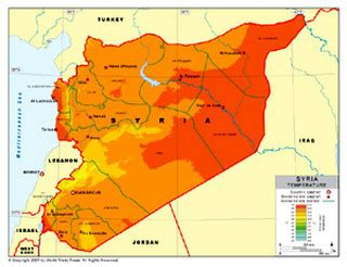 Geography - Syrian Civil War