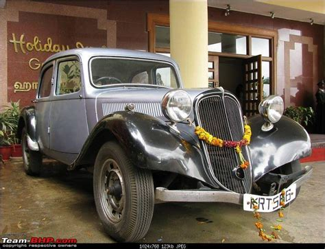 Citroen Traction Avant Cars In India