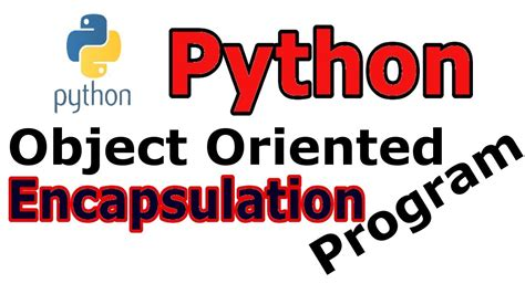 In this story, we will talk about encapsulation principle in oop and its implementation in javascript es7. What Is Encapsulation In Python Object Oriented ...