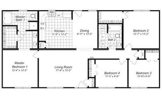 4 bed house plans house plans with 4 bedrooms marceladick