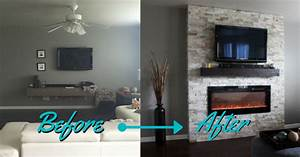 DIY: How-to Build A Fireplace (in one weekend) - Whitney