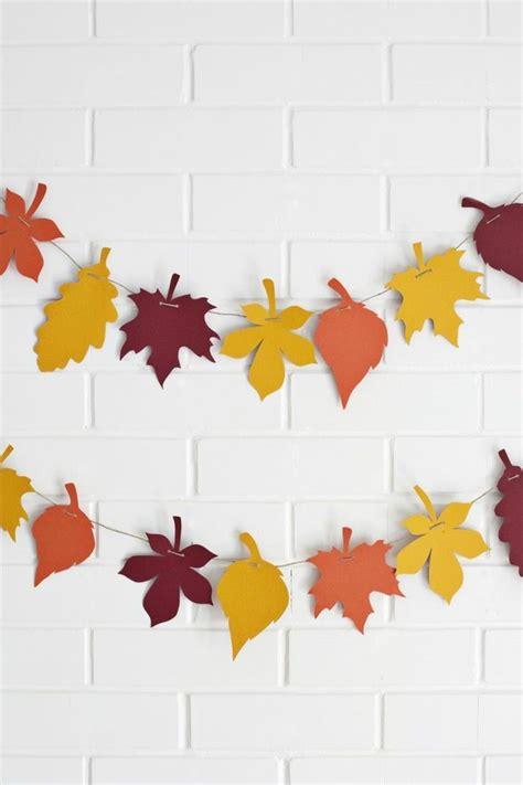 Herbst Girlande Fenster by Kreativ Basteln 70 Ausgefallene Sachen Die Sie Aus