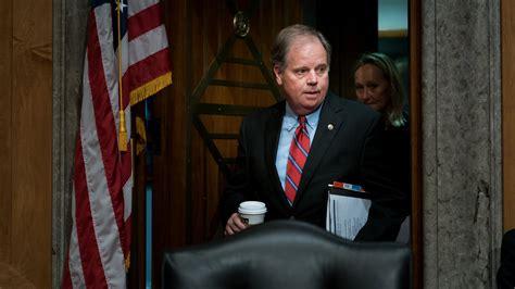 doug jones risks  alabama senate seat   shutdown