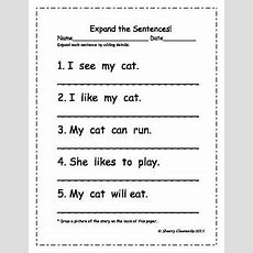 17 Best Images About Kindergarten Writing  Sc On Pinterest  Word Families, Writing Centers And