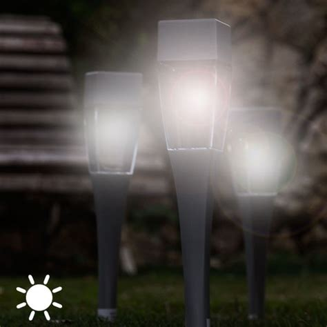 l en licht staande len tuinlen zonne energie trendy led tuinl in de vorm