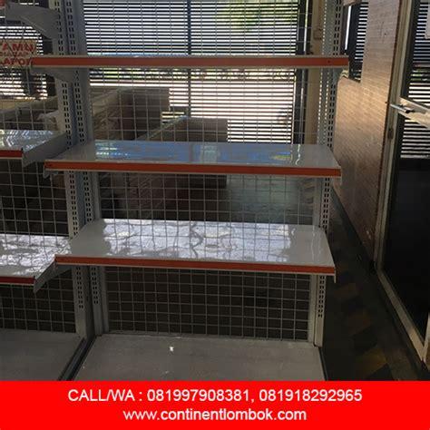 Distributor Rak Sepatu Gantung Cikarang galeri pemasangan distributor rak lombok call wa