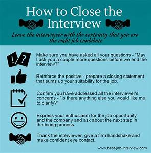Behavioral Based Interview Questions Successful Interview Closing Tips
