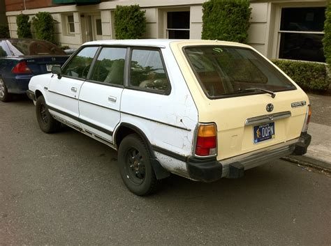 Old Parked Cars 1980 Subaru Dl Wagon
