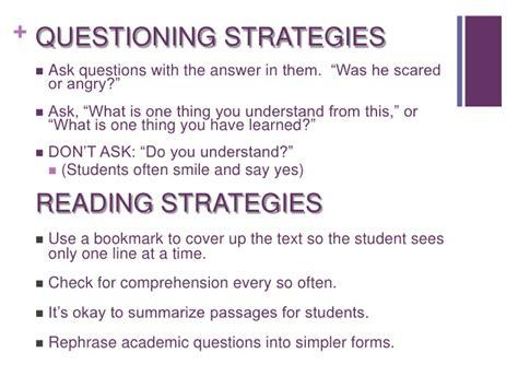 Strategies For Tutoring English Language Learners