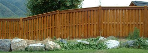 shadowbox privacy fence fence deck supply