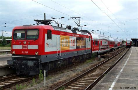Db 112-139-1 Mit Werbung Ottostadt Magdeburg