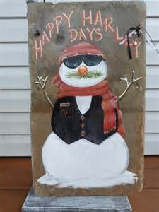 Harley-Davidson Snowman