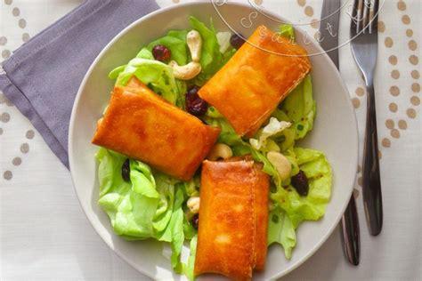 brick cuisine ma salade de bri brick croustillants de brie en feuille